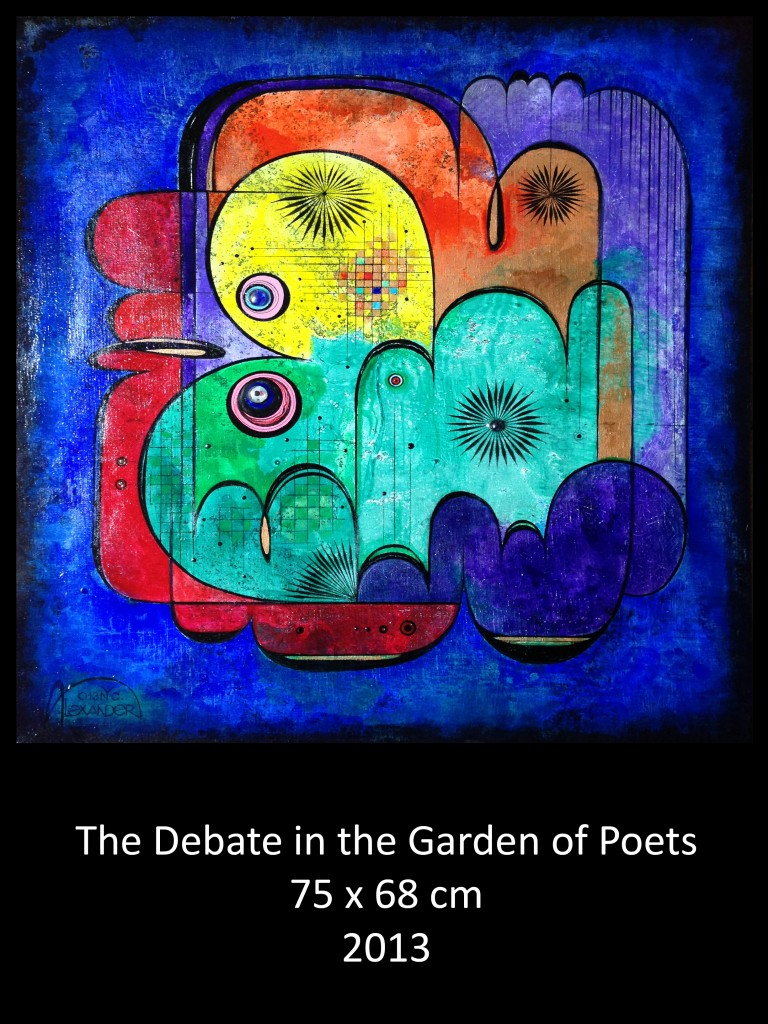 The Debate in the Garden of Poets